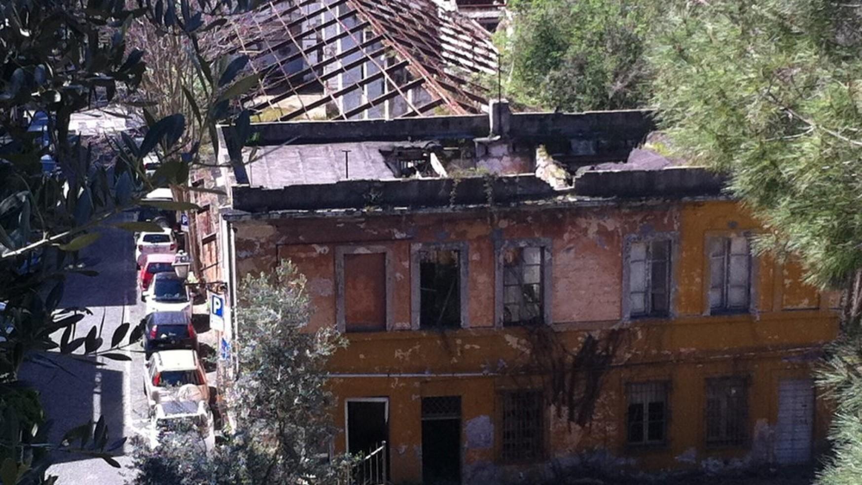 roma centro un vecchio rudere