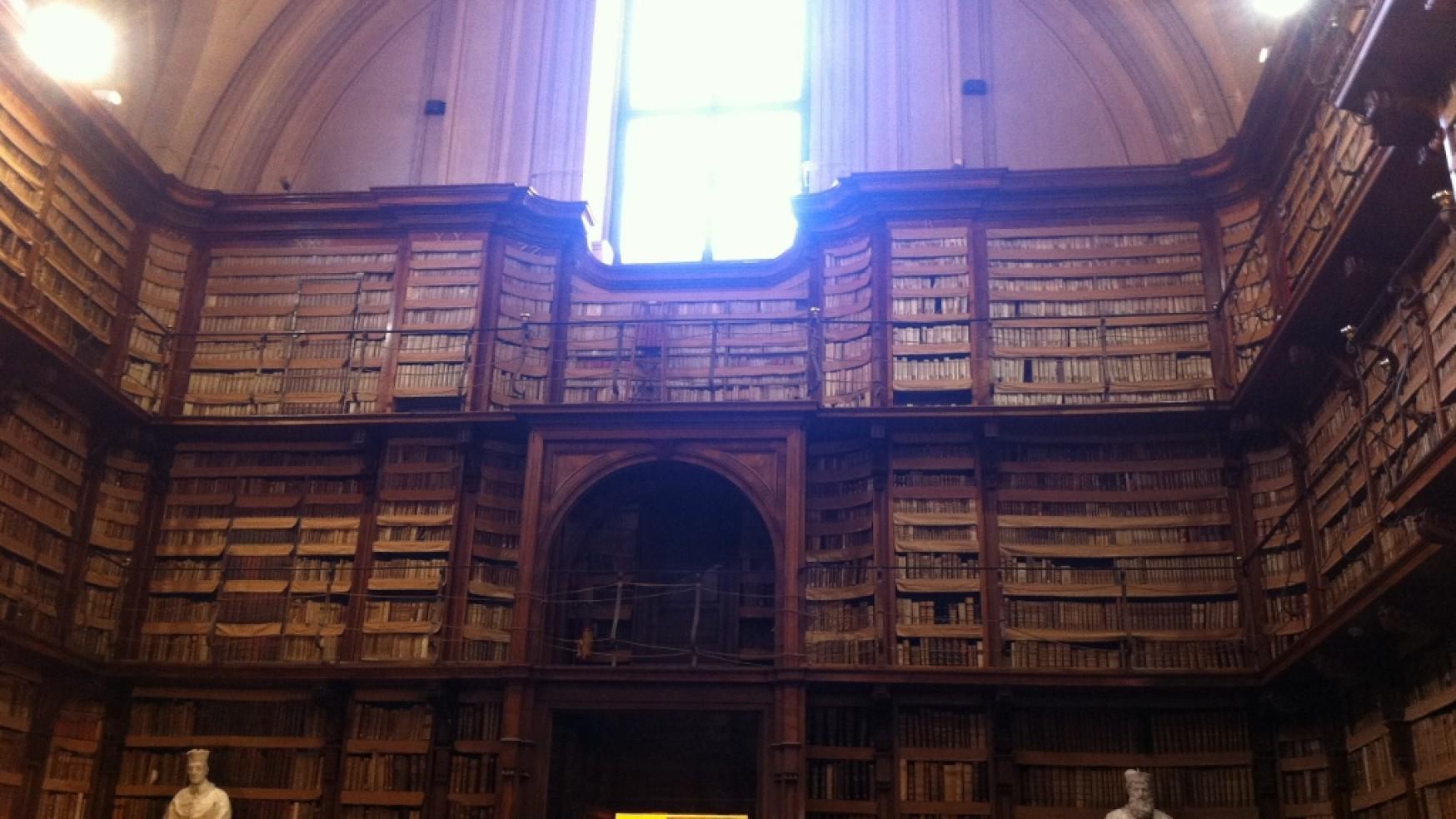 Troppo sole nella biblioteca