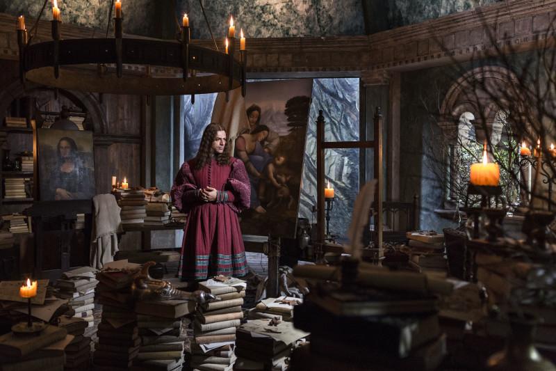 Inside Leonardo, director Jesus Garces Lambert, Dop Daniele Ciprì.Rome, september 2018