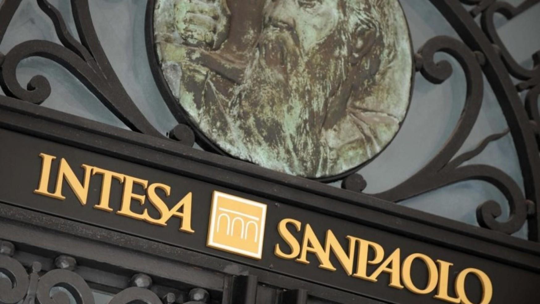 INTESA SANPAOLO AL TOP DELLA SOSTENIBILITA' ECONOMICA