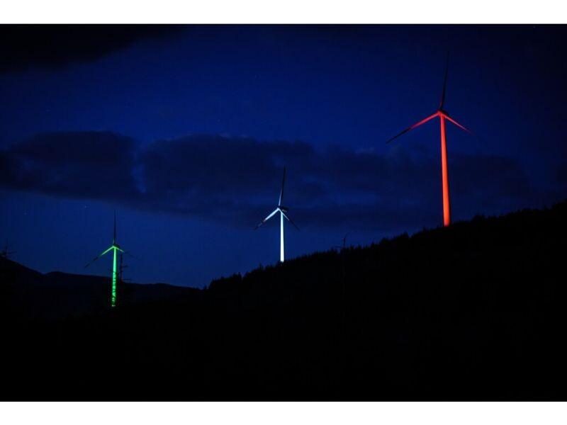11 – Impianto eolico di Collarmele (L'Aquila – ABRUZZO)