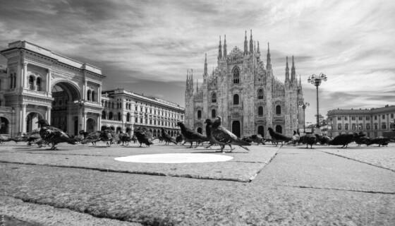 ALLE GALLERIE D'ITALIA: MILANO NEL LOCKDOWN FOTO IN MOSTRA