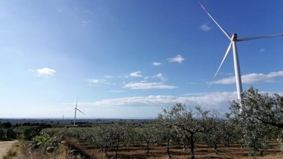 ENEL GREEN POWER APRE PARCO EOLICO A PARTANNA IN OTTO MESI DI LAVORI