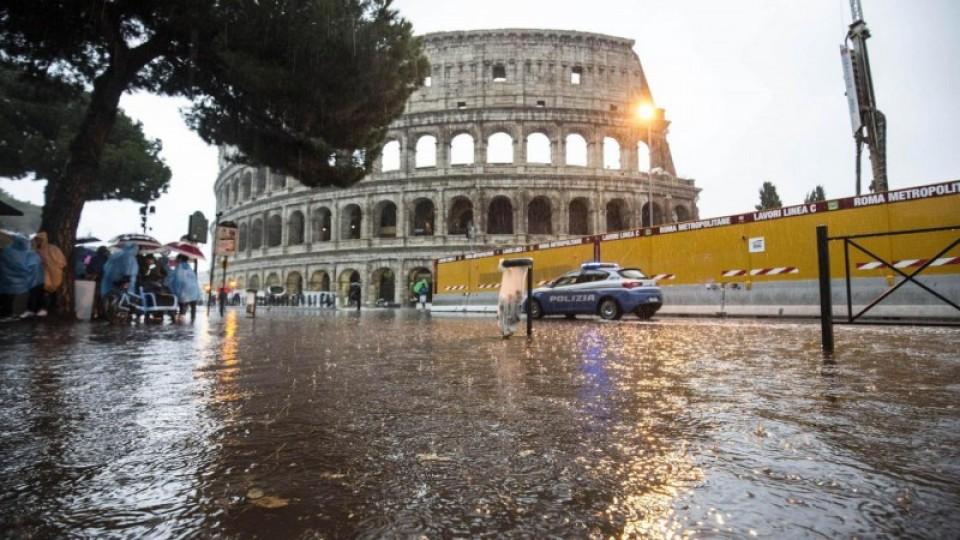 RISCHIO CLIMA IN 6 CITTA'